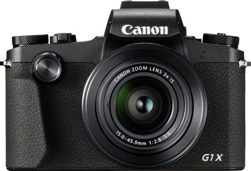 Canon PowerShot G1 X Mark III Fotocamera Bridge 24,2 MP 6000 x 4000 Pixel Nero