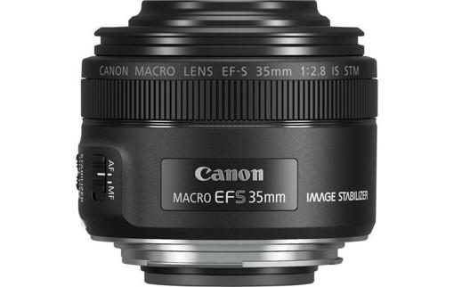 Canon EF-S 35mm f/2.8 Macro IS STM SLR Obiettivi macro Nero