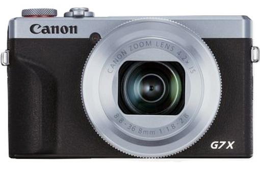Canon PowerShot G7 X Mark III Fotocamera compatta 20,1 MP CMOS 5472 x 3648 Pixel Nero, Argento