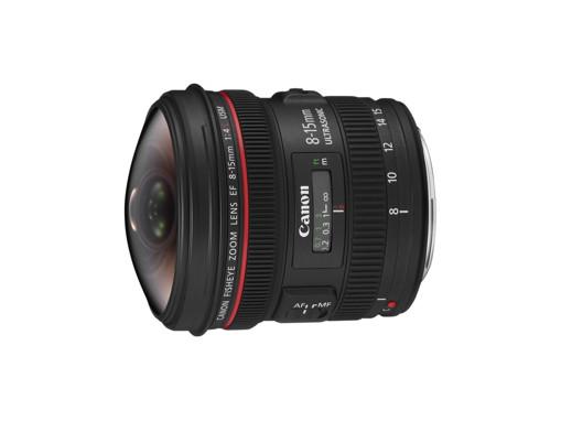 Canon EF 8-15mm f/4L Fisheye USM SLR Obiettivo fish-eye ampio Nero