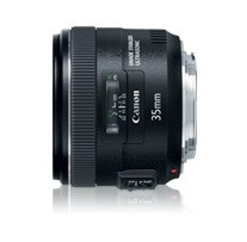 Canon EF 35mm f/2 IS USM Obiettivo ampio Nero