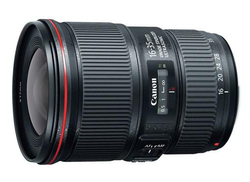 Canon EF 16-35mm f/4L IS USM SLR Nero