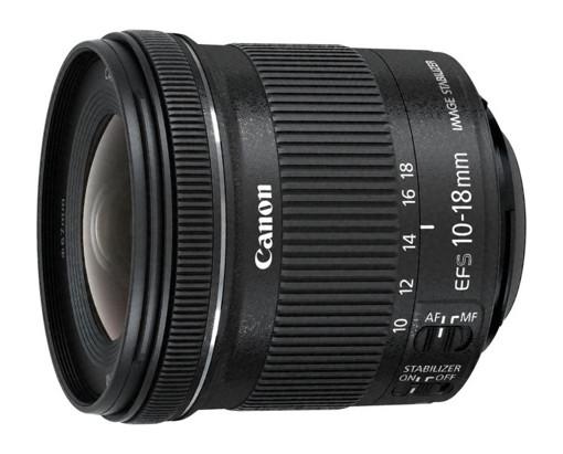 Canon EF-S 10-18mm f/4.5-5.6 IS STM + EW-73C + Lens Cloth SLR Obiettivo ultra-ampio Nero
