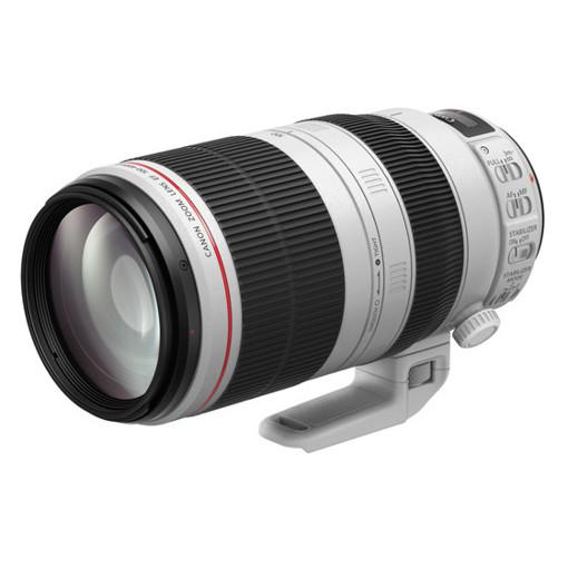 Canon EF 100-400 LIS 2 SLR Obiettivo tele-zoom Nero, Bianco