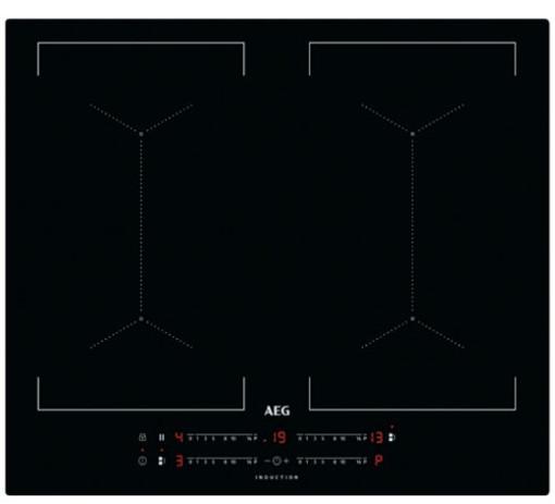 AEG IKS64453IB Nero Da incasso 58 cm A induzione 4 Fornello(i)