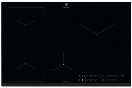 Electrolux LIL83443 Nero Da incasso 78 cm A induzione 4 Fornello(i)