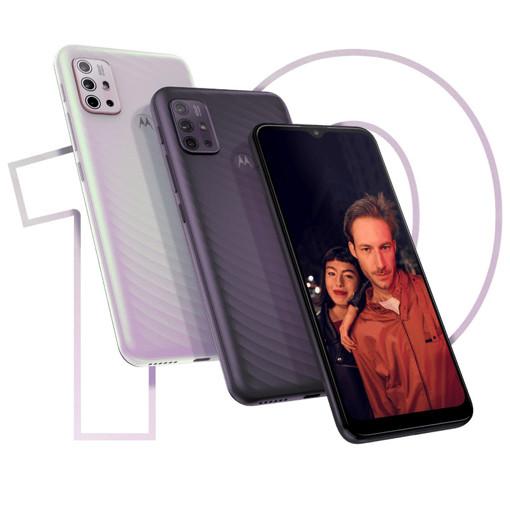 "Motorola moto g10 16,5 cm (6.5"") Doppia SIM Android 11 4G USB tipo-C 4 GB 128 GB 5000 mAh Grigio"