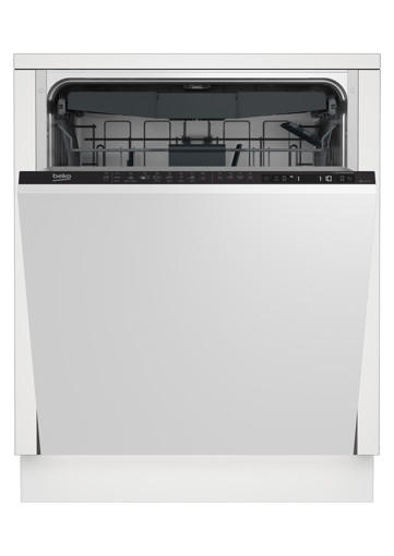 Beko DIN26C21 lavastoviglie A scomparsa totale 14 coperti E