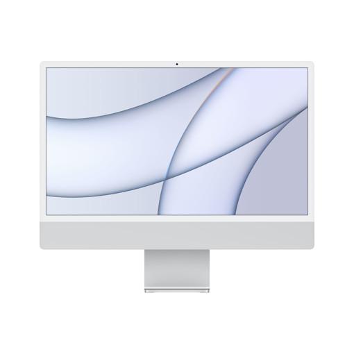 """Apple iMac 24"""" con display Retina 4.5K (Chip M1 con GPU 8-core, 512GB SSD) - Argento (2021)"""