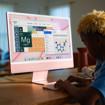 """Apple iMac 24"""" con display Retina 4.5K (Chip M1 con GPU 8-core, 256GB SSD) - Verde (2021)"""