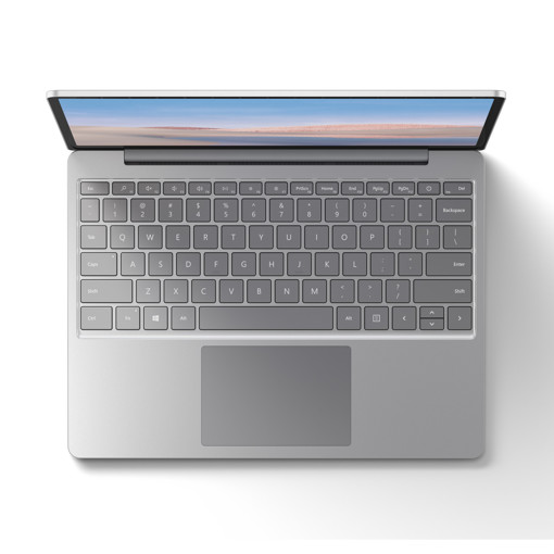 "Microsoft Surface Laptop Go LPDDR4x-SDRAM Computer portatile 31,6 cm (12.4"") 1536 x 1024 Pixel Touch screen Intel® Core™ i5 di decima generazione 8 GB 128 GB SSD Wi-Fi 6 (802.11ax) Windows 10 Home S Platino"