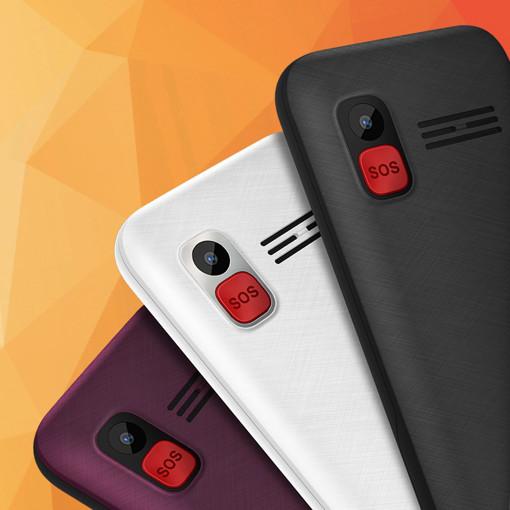 """Wiko F200 5,84 cm (2.3"""") 96 g Nero Telefono cellulare basico"""