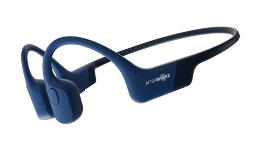 Aftershokz Aeropex Cuffia Passanuca Bluetooth Blu
