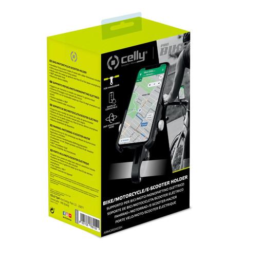 Celly Armor Bike Supporto passivo Telefono cellulare/smartphone Nero