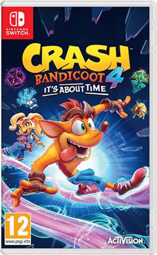 Activision Crash Bandicoot 4: It's About Time Basic Inglese, ITA Nintendo Switch