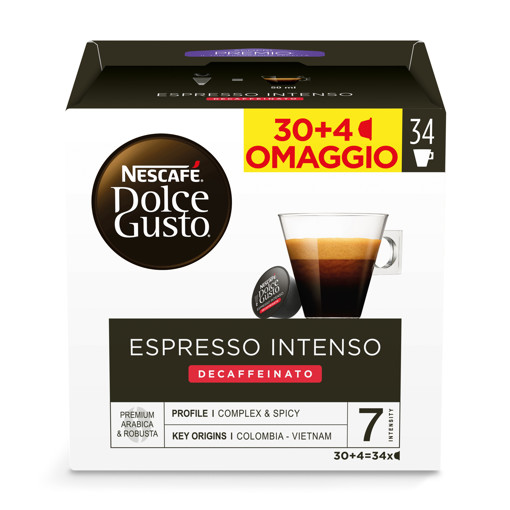 Nescafé Dolce Gusto Capsule Caffè  Intenso deca 34 Pezzi