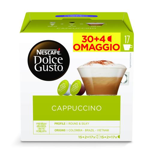 Nescafé Dolce Gusto Capsule Caffè Cappuccino 34 Pezzi