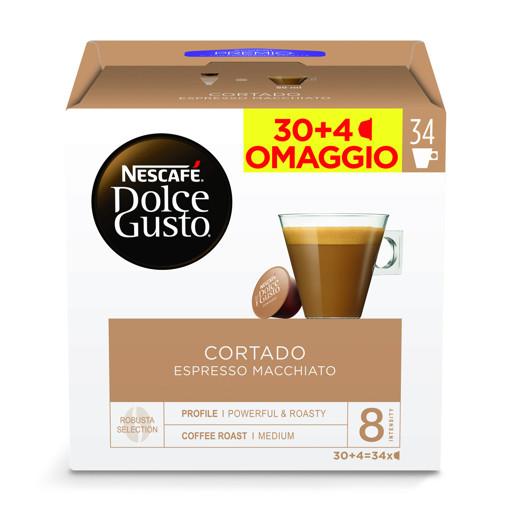 Nescafé Dolce Gusto Capsule Caffè Cortado macch. Espresso 34 Pezzi