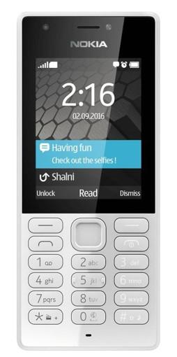 "Nokia 216 6,1 cm (2.4"") 82,6 g Grigio Telefono cellulare basico"