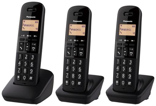 Panasonic KX-TGB613 Telefono DECT Identificatore di chiamata Nero