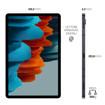 "Samsung Galaxy Tab S7 Tablet S Pen, Snapdragon 865 Plus, Display 11.0"" WQXGA, 128GB Espandibili fino a 1TB, RAM 6GB, Batteria 8.000 mAh, LTE, Android 10, Mystic Black"