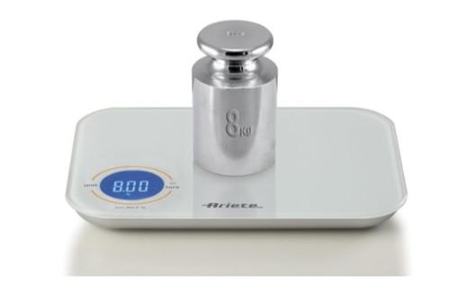 Ariete 0851/00 Bianco Superficie piana Rettangolo Bilancia da cucina elettronica