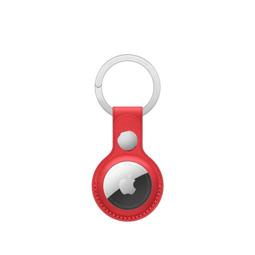 Apple Portachiavi AirTag in pelle - (PRODUCT)RED