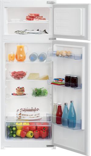 Beko BD250KFSN frigorifero con congelatore Da incasso 220 L F Bianco