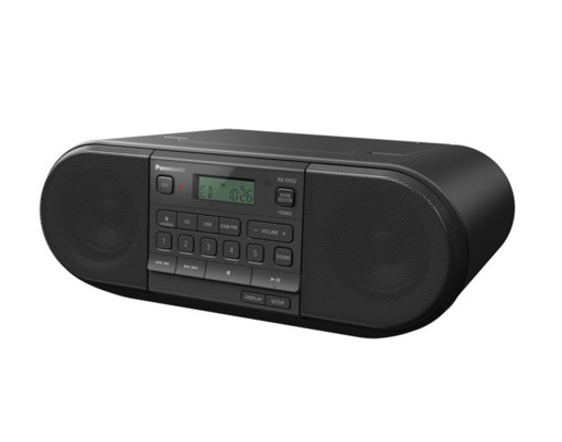 Panasonic RX-D552 Digitale 20 W Nero