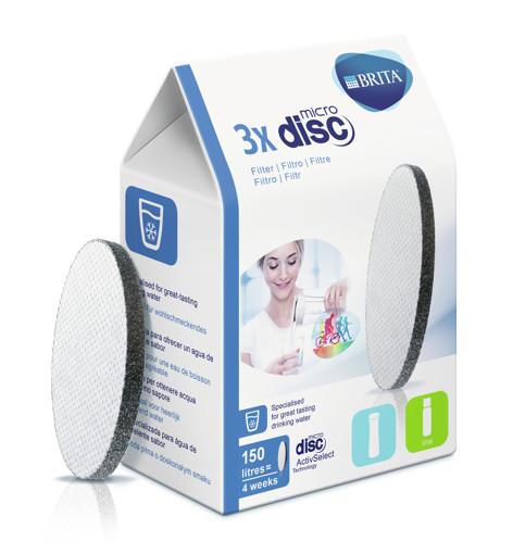 Brita 3 x MicroDisc Disco filtrante per acqua 3 pezzo(i)