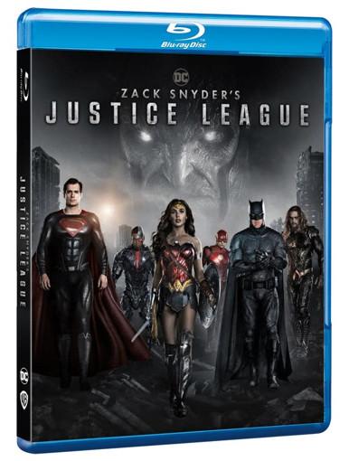 Warner Bros Zack Snyder's Justice League Blu-ray Inglese, ITA