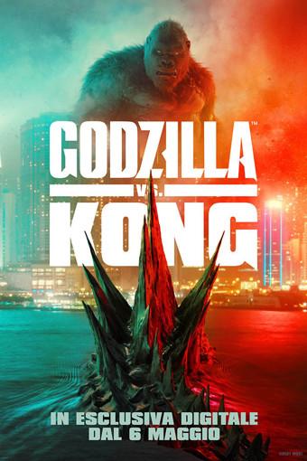 Warner Bros Godzilla vs Kong DVD Inglese, ITA
