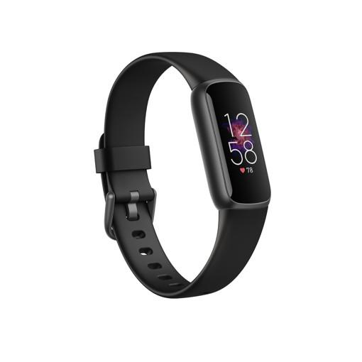 Fitbit Luxe AMOLED Braccialetto per rilevamento di attività Nero, Grafite
