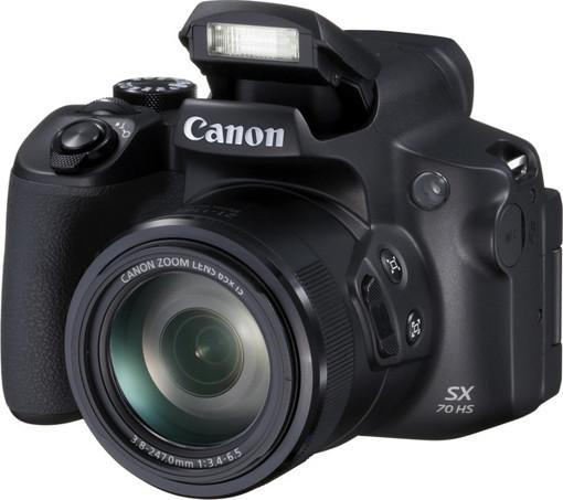 "Canon PowerShot SX70 HS 1/2.3"" Fotocamera Bridge 20,3 MP CMOS 5184 x 3888 Pixel Nero"