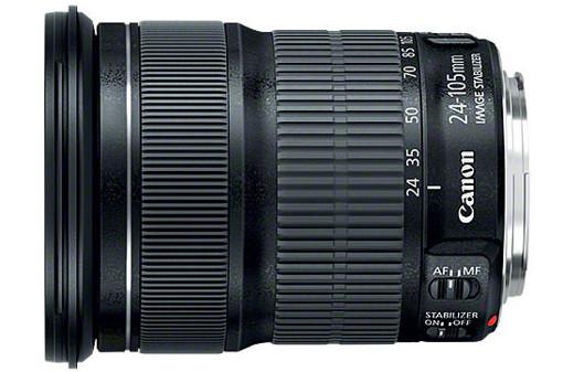Canon EF 24-105mm f/3.5-5.6 IS STM SLR Obiettivi con zoom standard Nero
