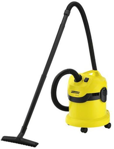 Kärcher WD 2.200 12 L Aspiratore a cilindro Secco 1200 W Sacchetto per la polvere