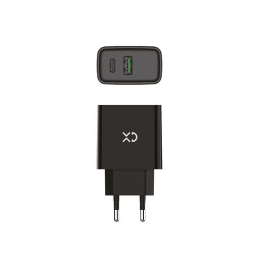 XD XDHTV18 Caricabatterie per dispositivi mobili Nero Interno