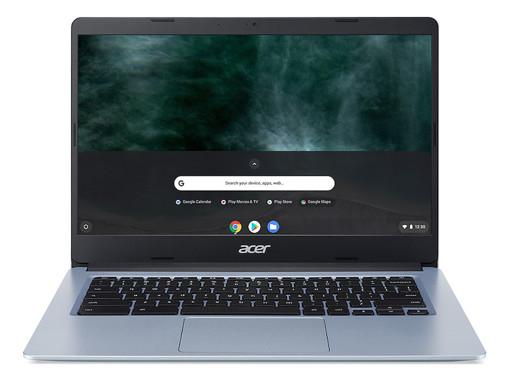 """Acer Chromebook CB314-1H-P1ZG DDR4-SDRAM 35,6 cm (14"""") 1920 x 1080 Pixel Intel® Pentium® Silver 8 GB 128 GB eMMC Wi-Fi 5 (802.11ac) Chrome OS Argento"""