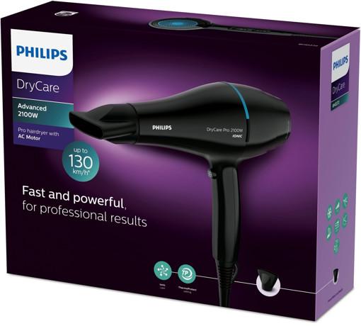 Philips DryCare Asciugacapelli professionale con motore AC da 2100 W