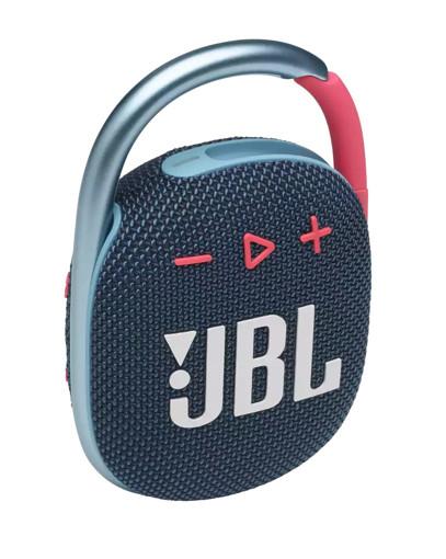 JBL Clip 4 Altoparlante portatile mono Blu, Rosa 5 W