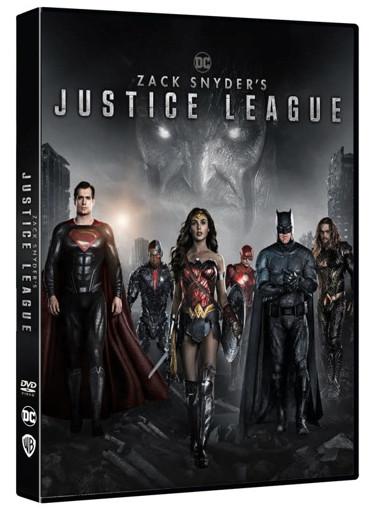 Warner Bros Zack Snyder's Justice League DVD