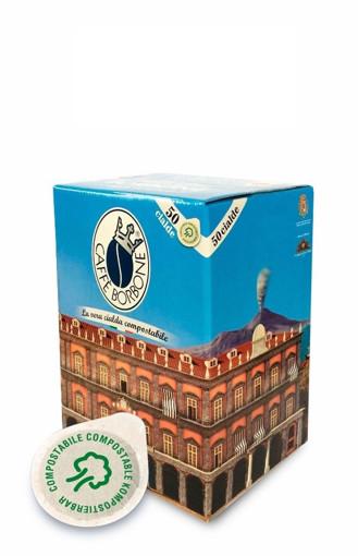Caffe Borbone 44BBLUPALAZNOBIL050N capsula e cialda da caffè Cialde caffè 50 pz