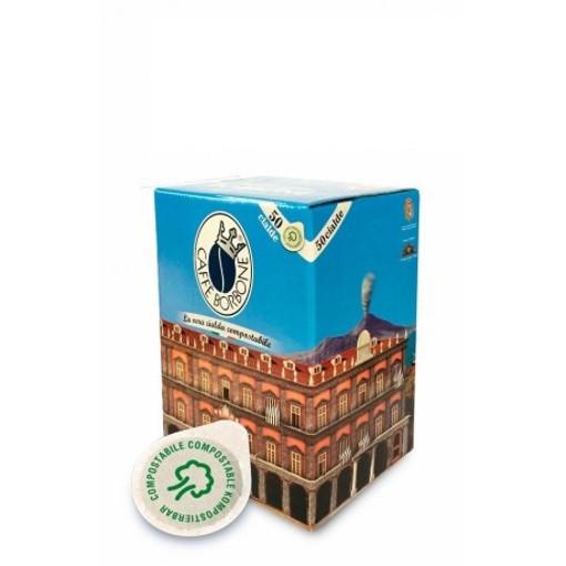 Caffe Borbone 44BNERAPALAZDEC050N capsula e cialda da caffè Cialde caffè 50 pz