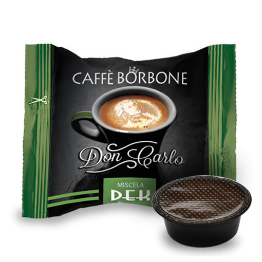 Caffe Borbone Don Carlo Miscela Verde/Dek
