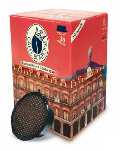 Caffe Borbone AMSNERAPALAZDEC050N capsula e cialda da caffè Cialde caffè 50 pz