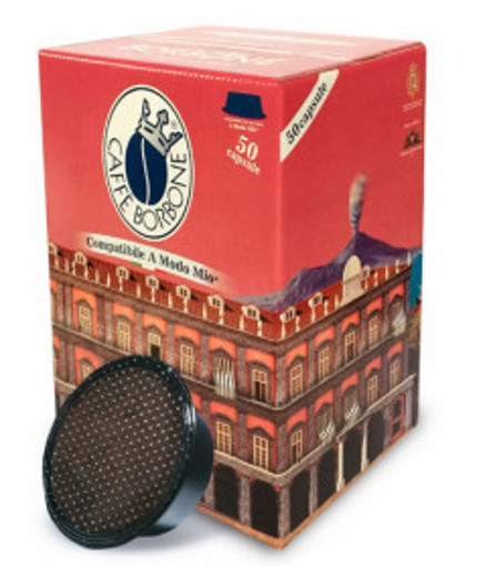 Caffe Borbone AMSOROPALAZSUPREM050 capsula e cialda da caffè Cialde caffè 50 pz