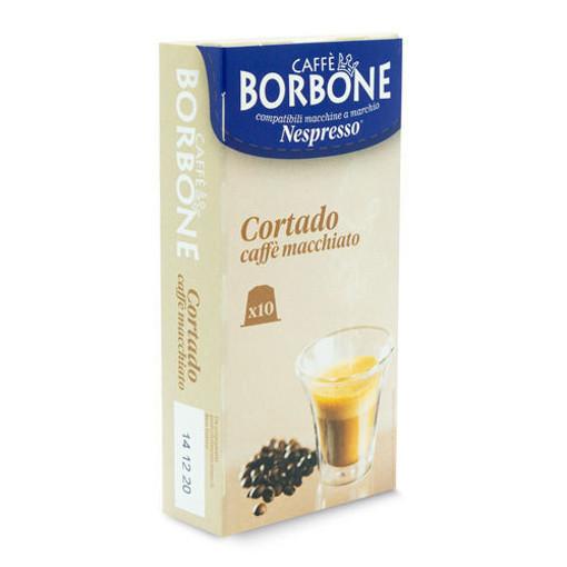 Caffe Borbone Cortado caffe macciato Capsule caffè 10 pz