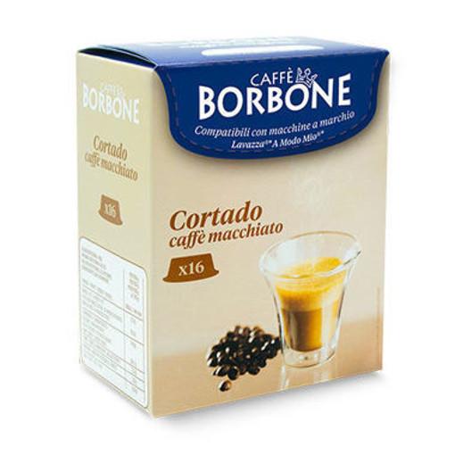 Caffe Borbone Cortado caffe macchiato Capsule caffè 16 pz