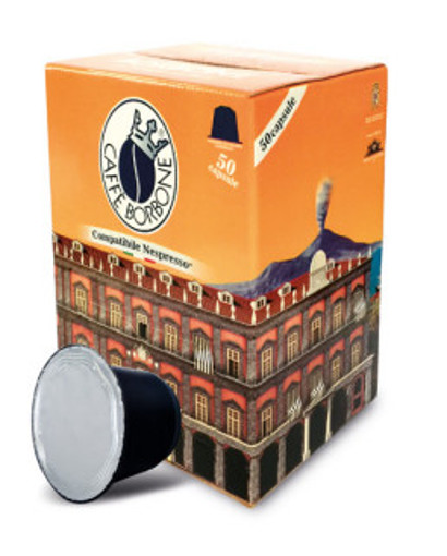 Caffe Borbone REBNERAPALAZDEC050N capsula e cialda da caffè Capsule caffè 50 pz