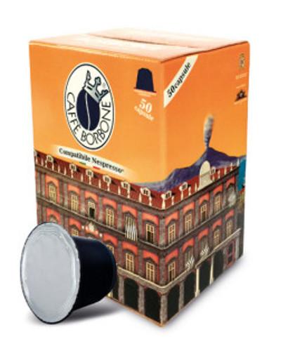 Caffe Borbone REBOROPALAZSUPR050N capsula e cialda da caffè Capsule caffè 50 pz